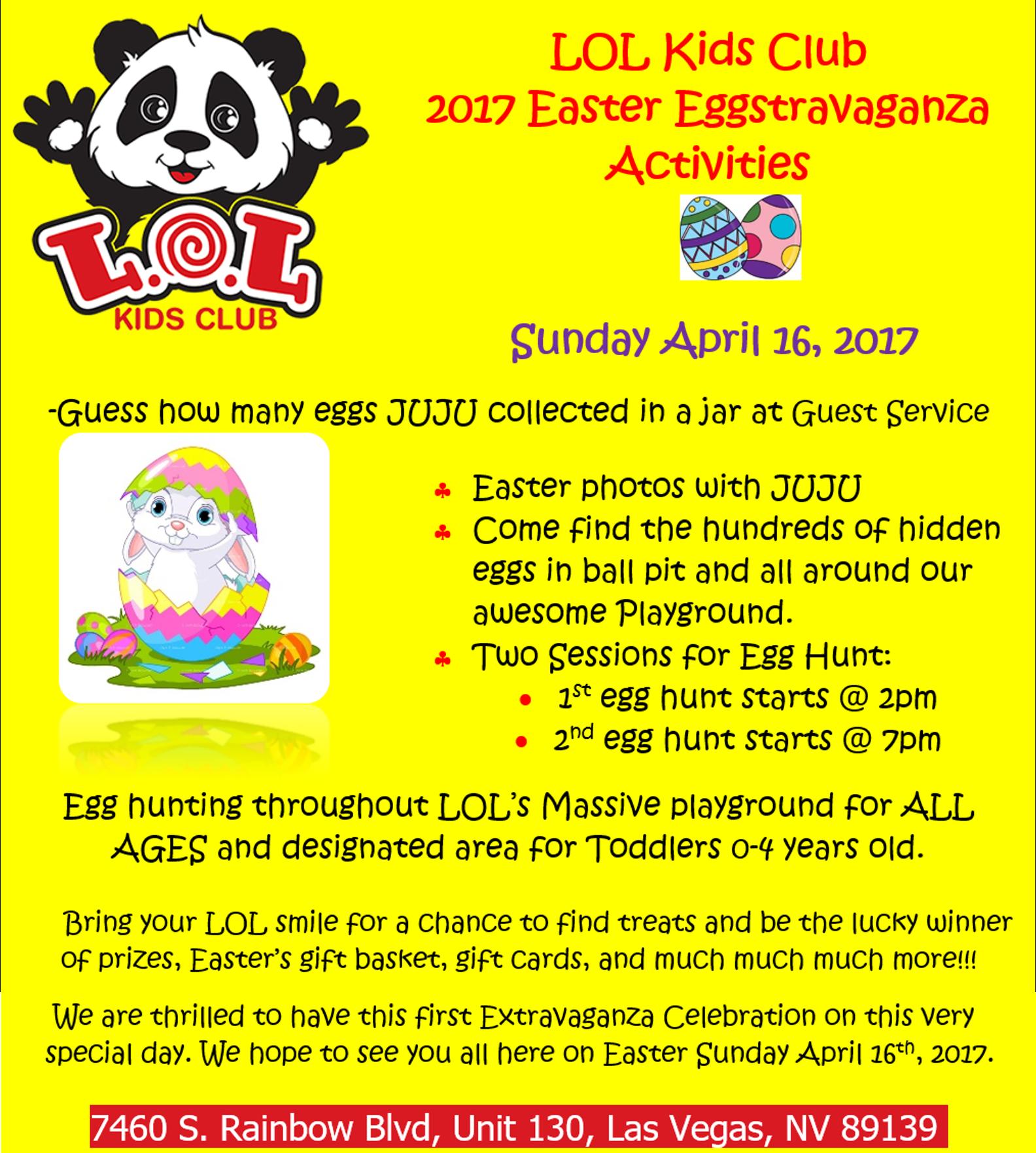 Lol kids club easter eggstravaganza lol kids club home lol kids club easter eggstravaganza negle Gallery