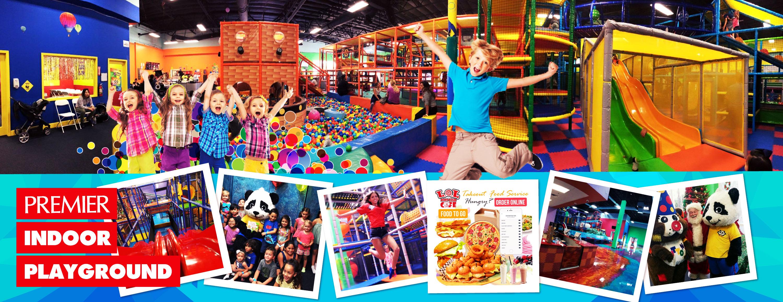 Kids having fun, Ballpit